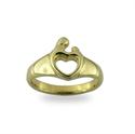 Afbeelding van M'amour ring hart G54