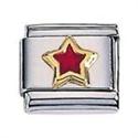Afbeelding van Zoppini - 9mm - diversen ster rood