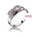Afbeelding van Zinzi - ring pink ribbon - zir560