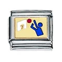 Afbeelding van Zoppini - 9mm - sporten basketbal gravure