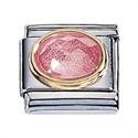 Afbeelding van Zoppini - 9mm - Synthetische steen rose