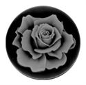 Afbeelding van My iMenso - cameé zwart roos 27/123 - 33mm