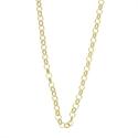 Afbeelding van My iMenso - Jasseron collier geelgoud op zilver 27/038 - 92cm