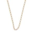 Afbeelding van My iMenso - Jasseron collier roodgoud op zilver 27/039 - 92cm