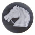 Afbeelding van My iMenso - Cameé zwart paard 27/404 - 33mm