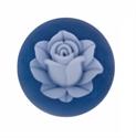 Afbeelding van My iMenso - cameé blauw bloem 29/412 - 24mm