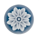 Afbeelding van My iMenso - cameé blauw bloem 29/155 - 24mm