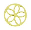 Afbeelding van My iMenso - cover geelgoud op zilver 24-0393 - 24mm